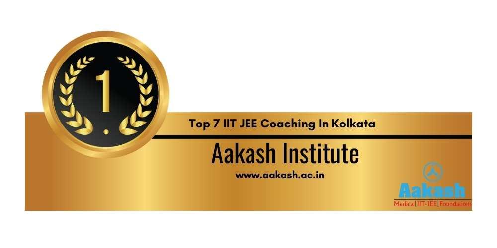 IIT JEE Coaching in Kolkata Rank 1