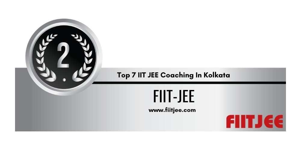 IIT JEE Coaching in Kolkata Rank 2