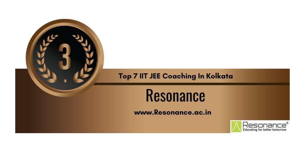 IIT JEE Coaching in Kolkata Rank 3