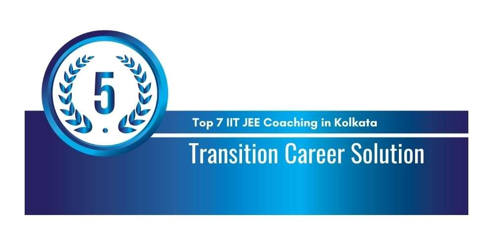 IIT JEE Coaching in Kolkata Rank 5