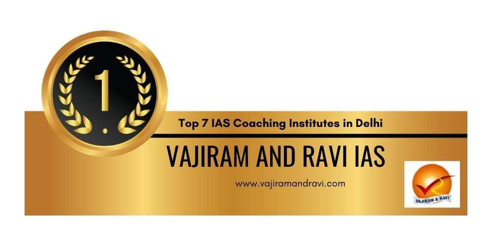 Rank 1 IAS coaching Delhi