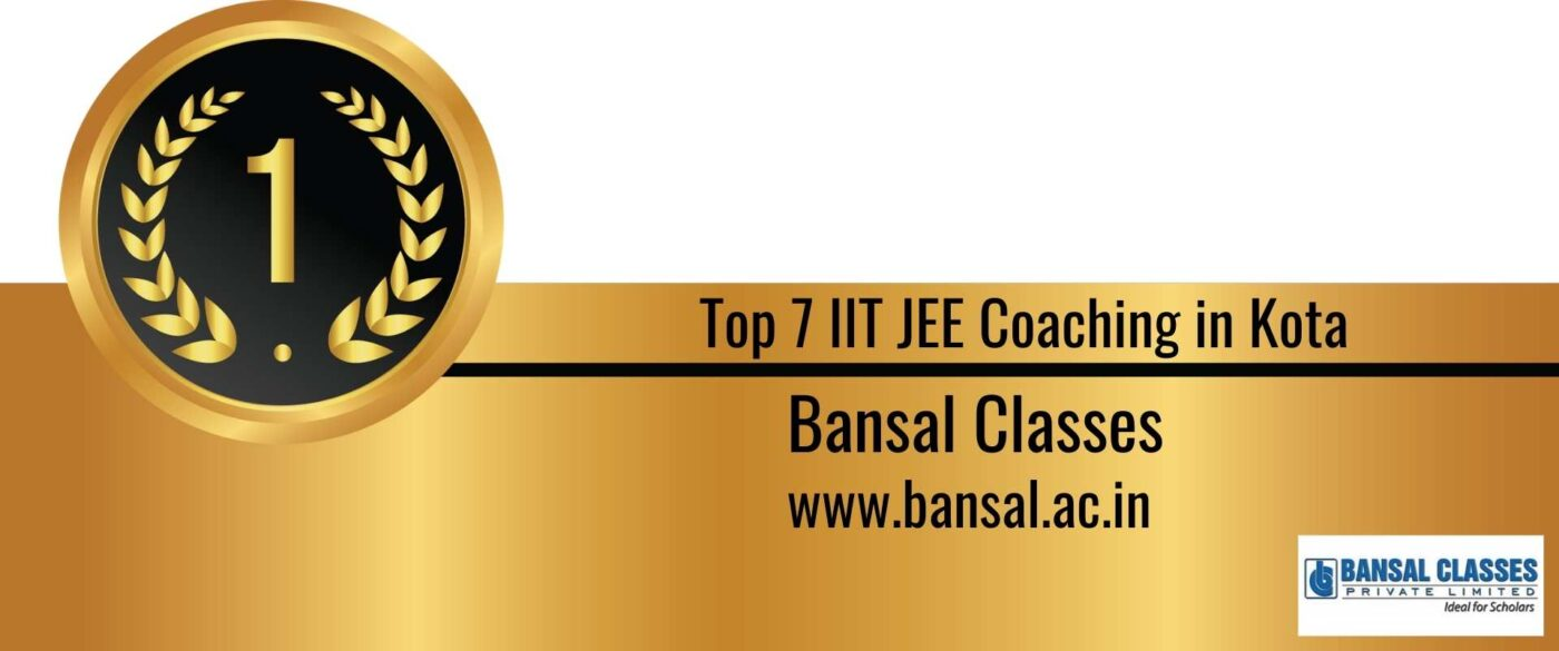 Rank 1 Top 7 IIT JEE Coaching Kota