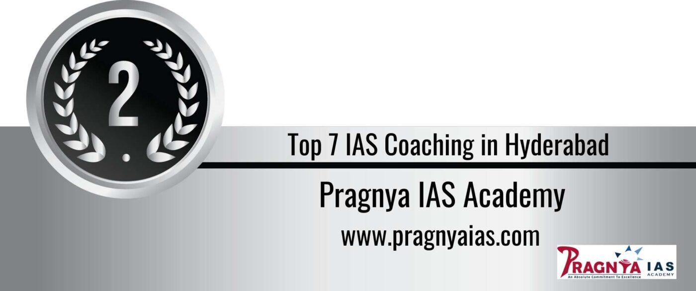 Rank 2 IAS Coaching in Hyderabad