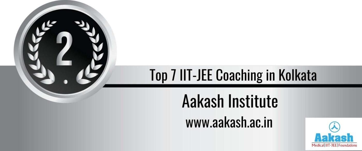 Rank 2 Top 7 IIT JEE Coaching in Kolkata