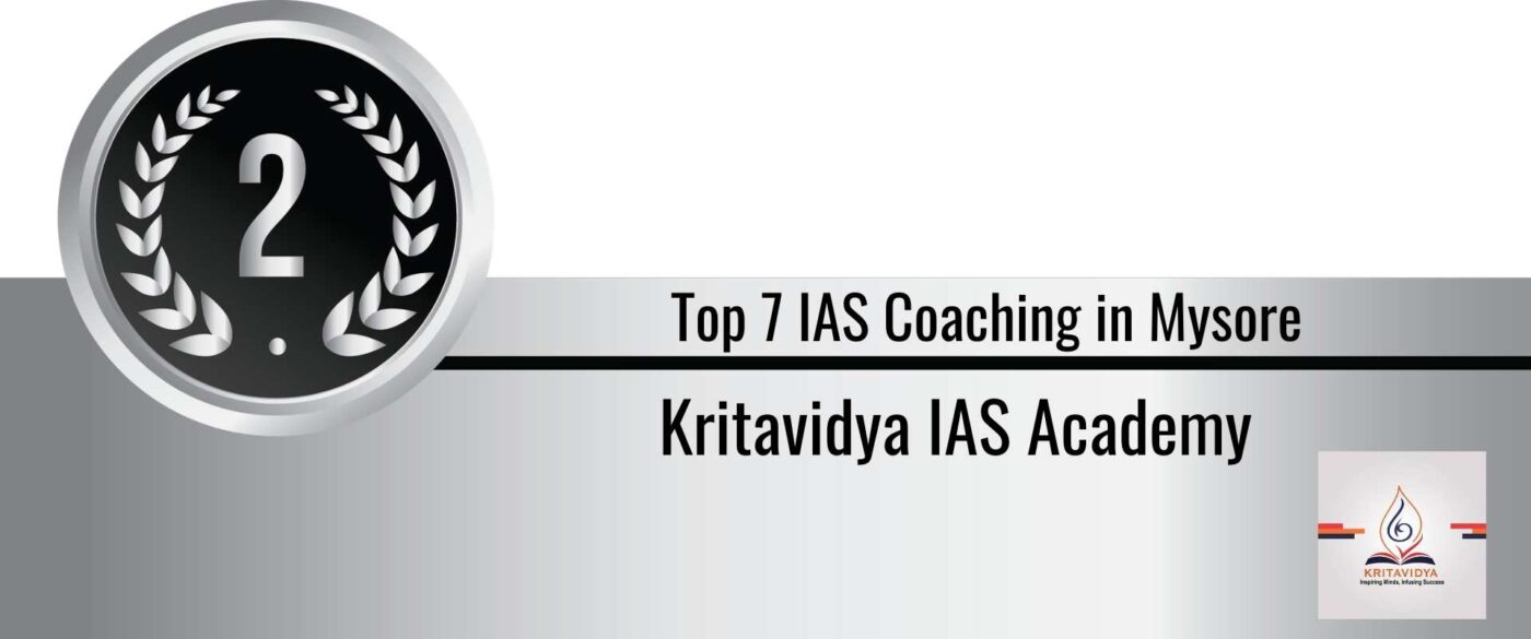 Rank 2 Top 7 ias coaching in Mysore