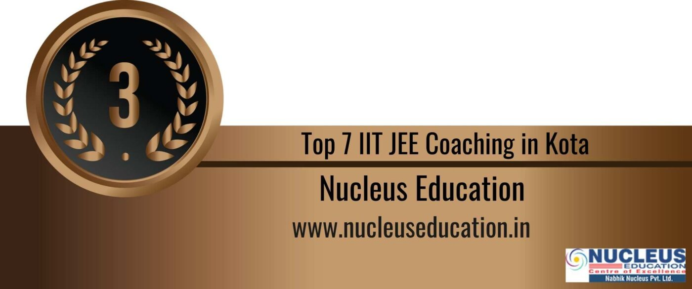 Rank 3 Top 7 IIT JEE Coaching Kota