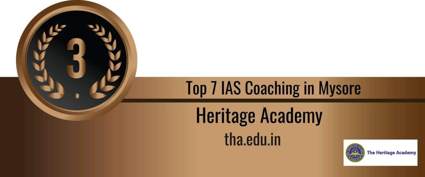 Rank 3 Top 7 ias coaching in Mysore