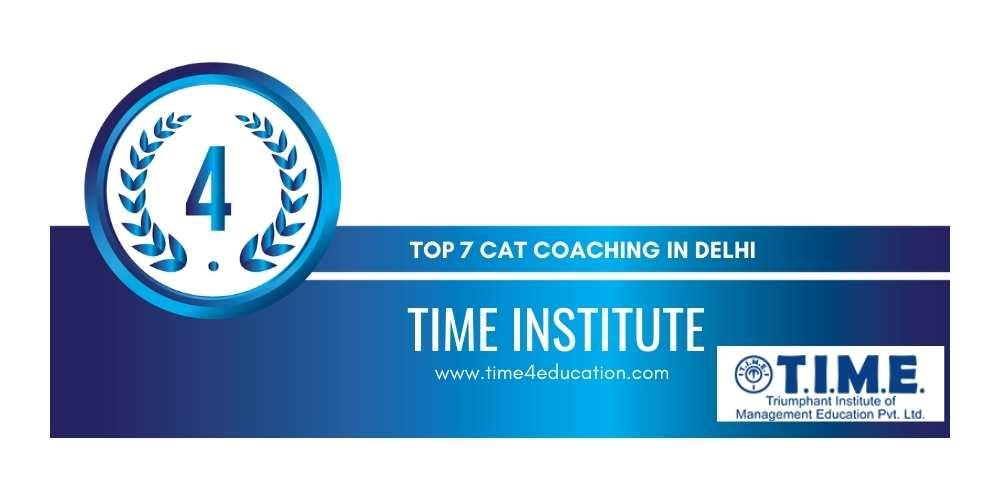 Rank 4 Cat Coaching in Delhi