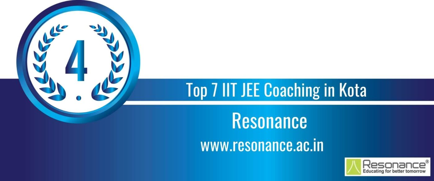 Rank 4 Top 7 IIT JEE Coaching Kota