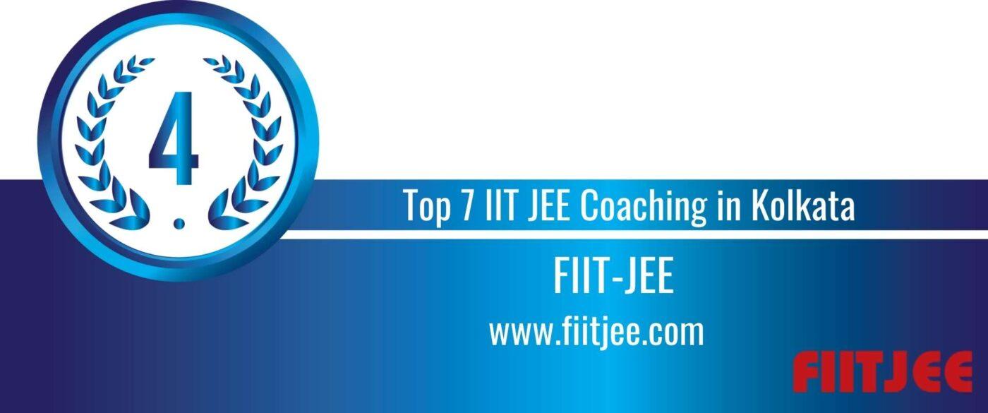 Rank 4 Top 7 IIT JEE Coaching in Kolkata