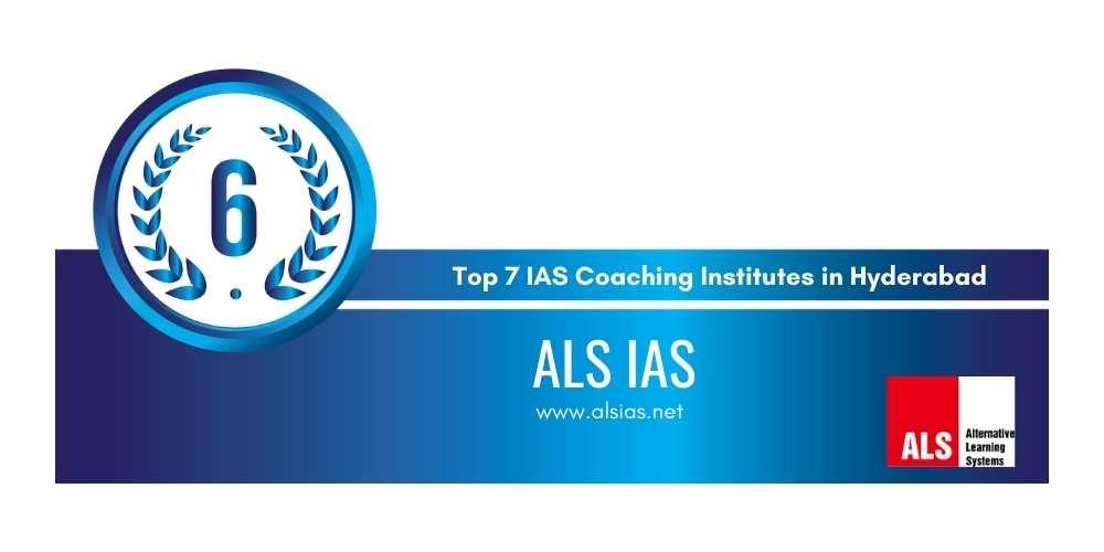Rank 6 IAS coaching in hyderabad