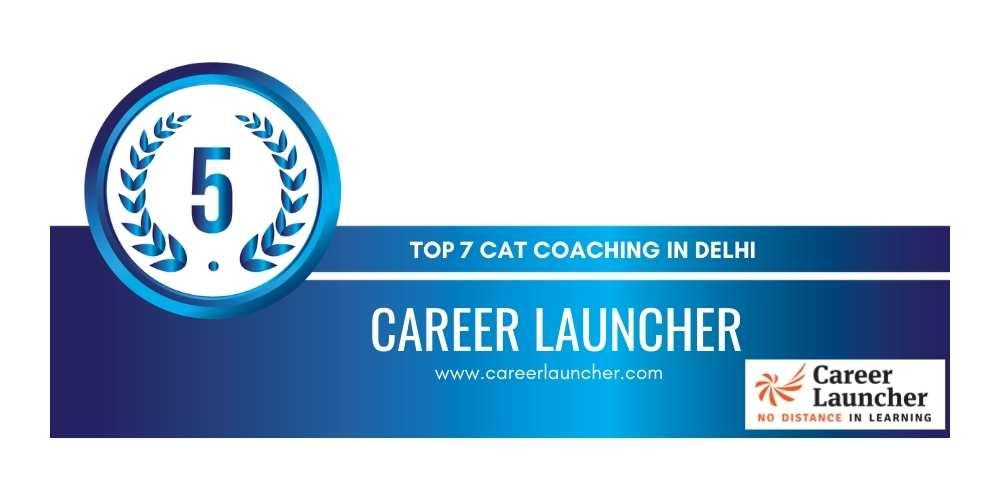 cat coching in delhi rank 5
