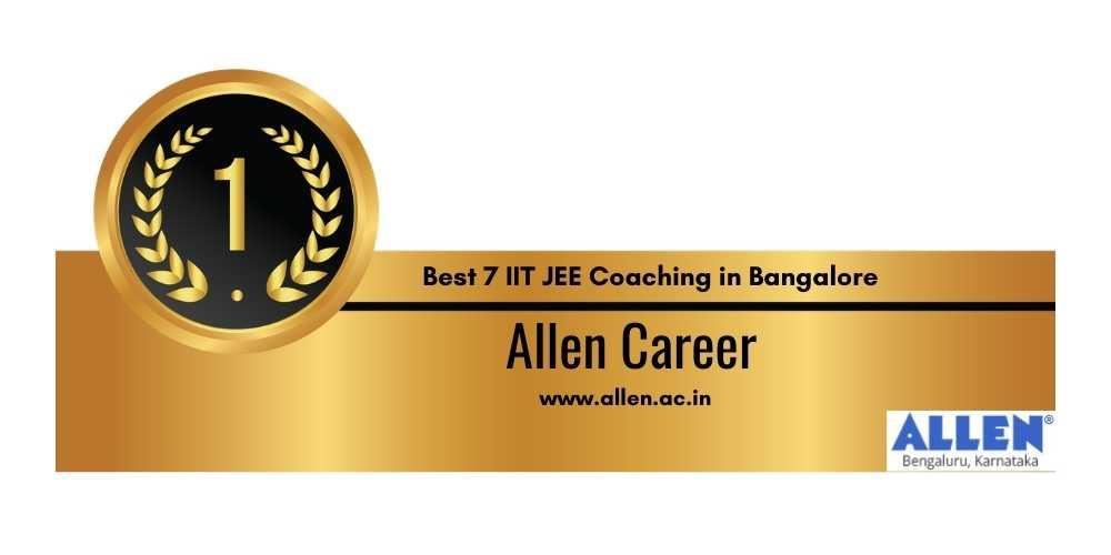 IIt Coaching in Bangalore Rank 1