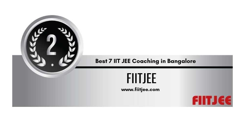 IIt Coaching in Bangalore Rank 2