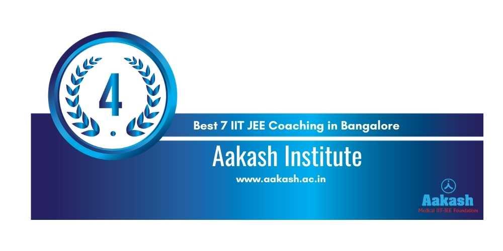 IIt Coaching in Bangalore Rank 4