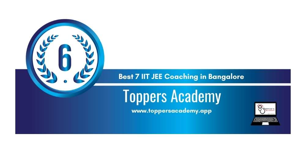 IIt Coaching in Bangalore Rank 6