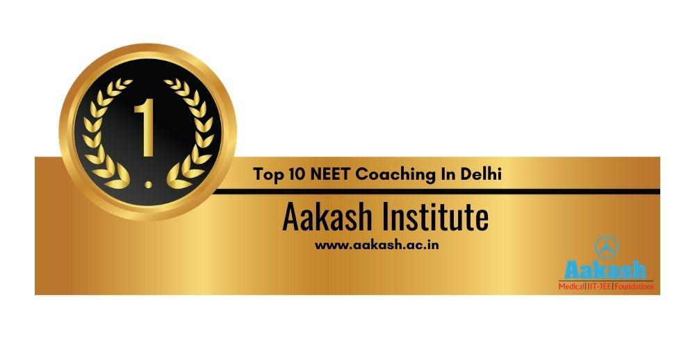 Rank 1 NEET Coaching In Delhi