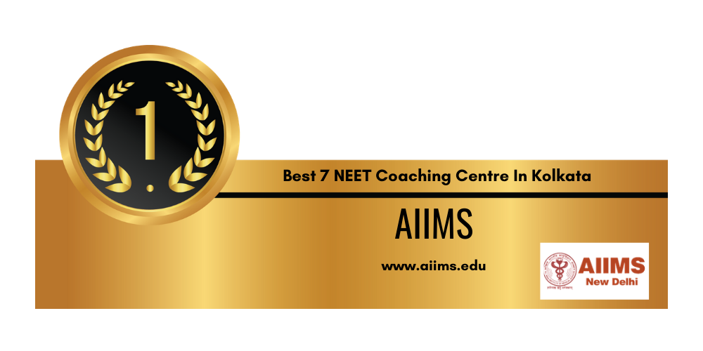 Rank 1 in the List of Top 7 NEET Coaching Institute in Kolkata