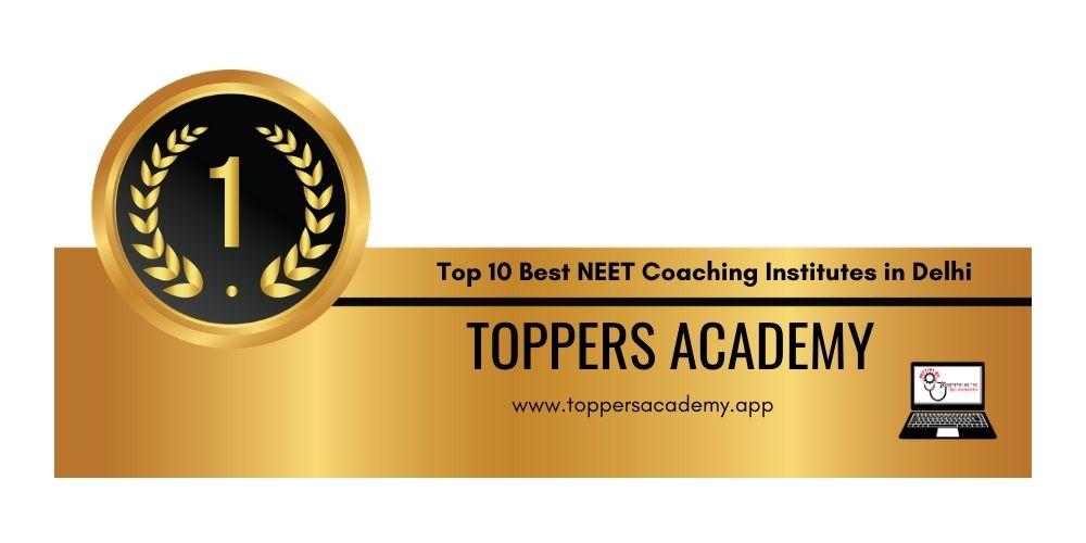 Rank 1.Best NEET Coaching in Delhi