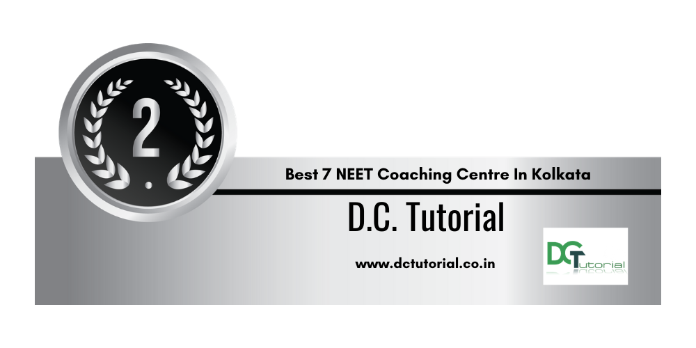 Rank 2 in the List of Top 7 NEET Coaching Institute in Kolkata