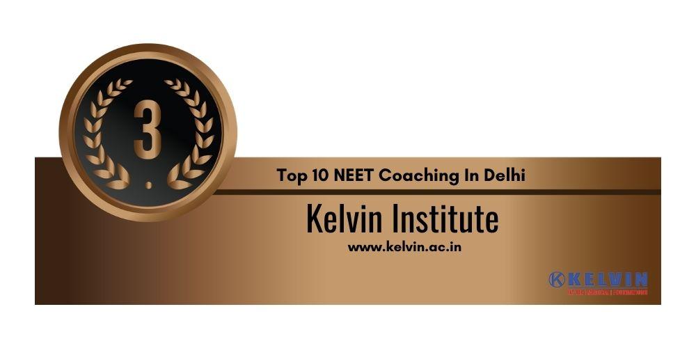 Rank 3 NEET Coaching In Delhi