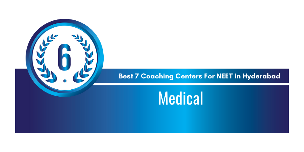 Rank 6 in the List of Best Coaching Centers in Hyderabad for NEET