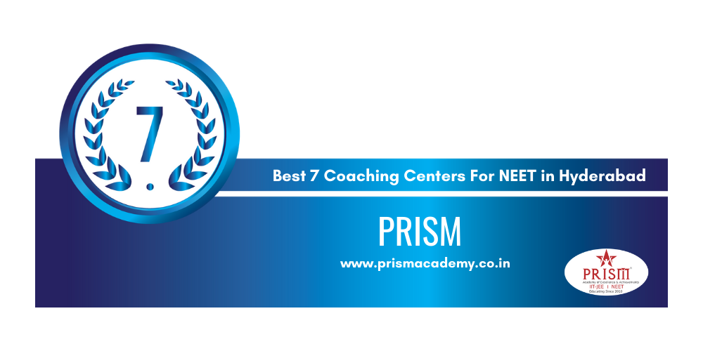 Rank 7 in the List of Best Coaching Centers in Hyderabad for NEET