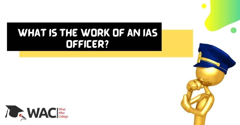 What is the Work of an IAS Officer_