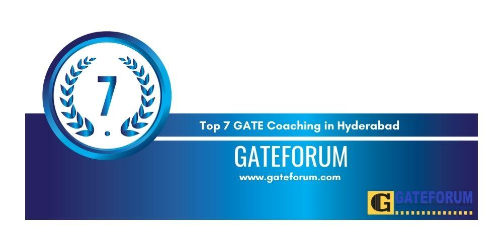 GATE Hyderabad 7