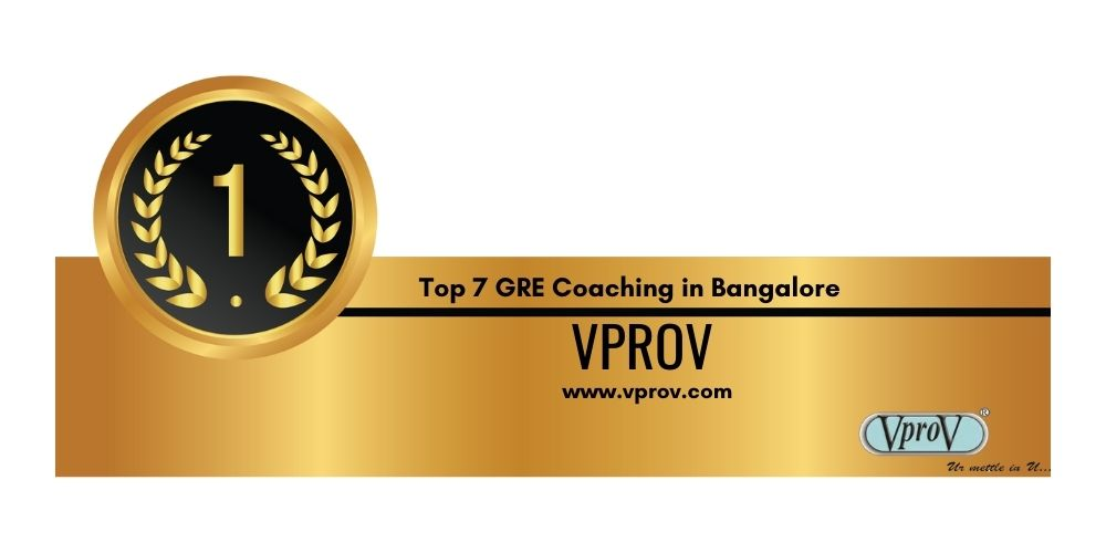 Rank 1 Best GRE Coaching in Bangalore