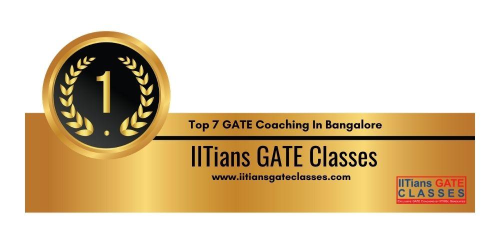 Rank 1 GATE Coaching In Bangalore