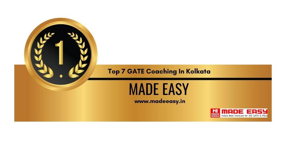 Rank 1 GATE Coaching In Kolkata