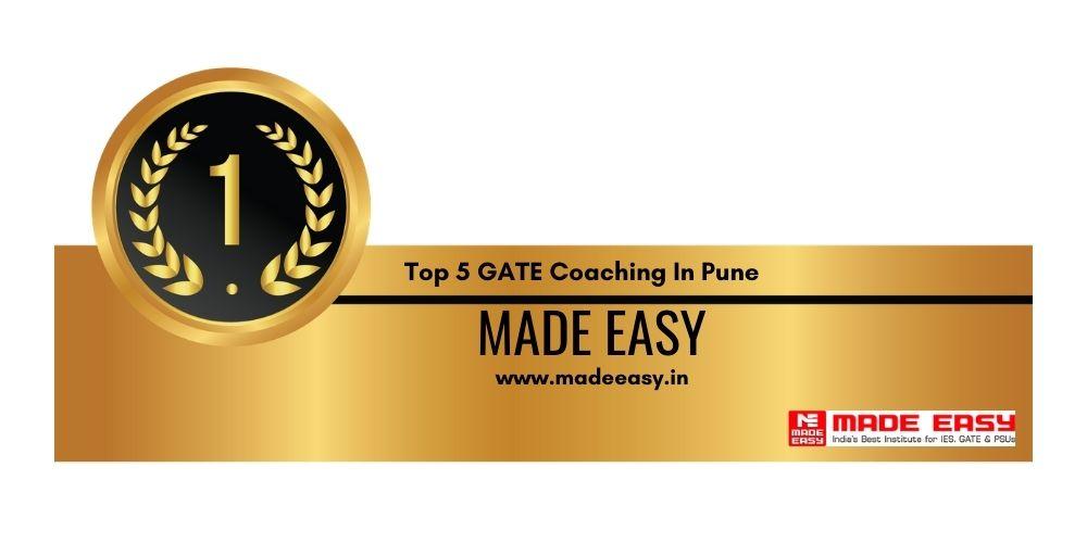 Rank 1 GATE Coaching In Pune