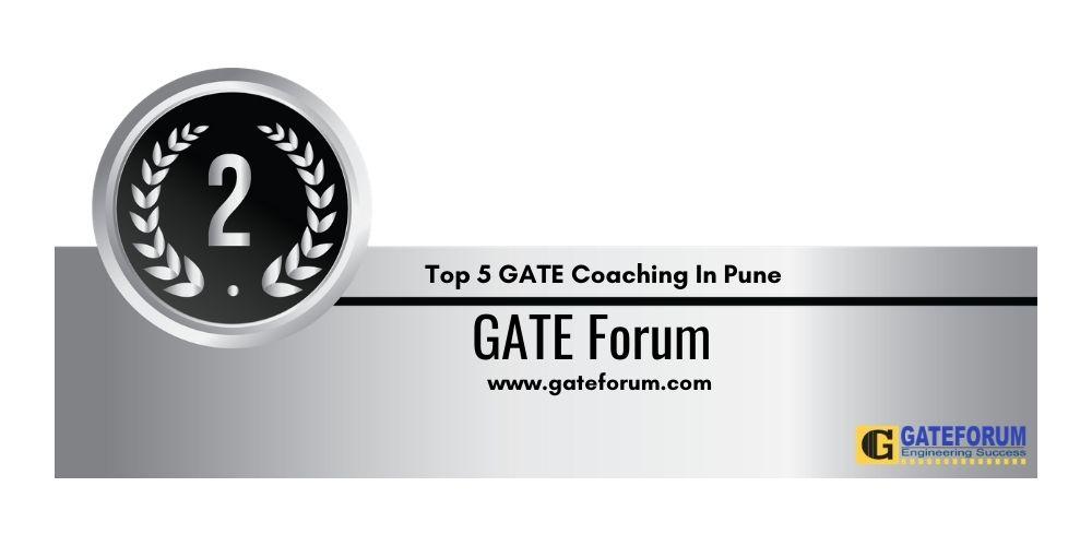 Rank 2 GATE Coaching In Pune