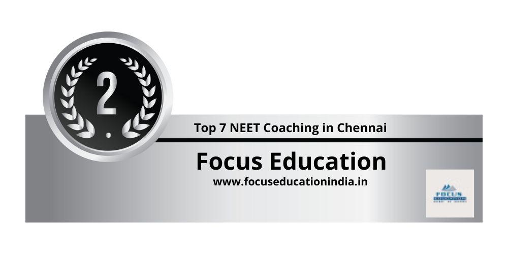 Rank 2 NEET Coaching in Chennai