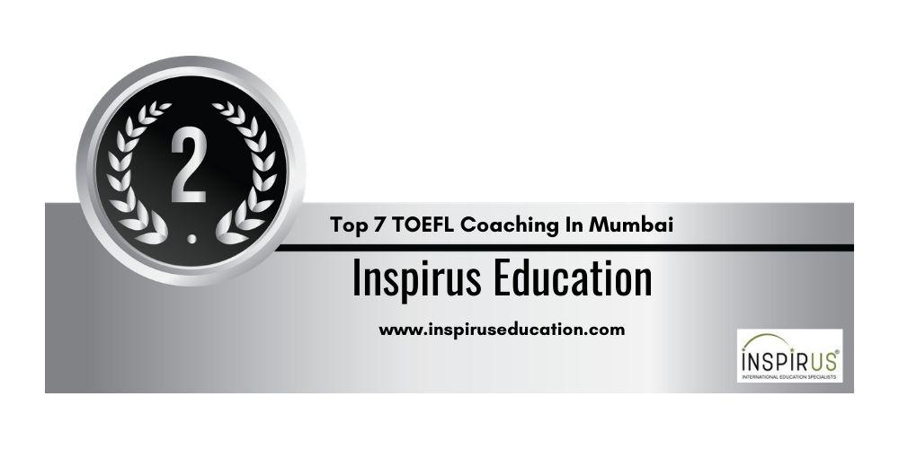 Rank 2 TOEFL Coaching In Mumbai