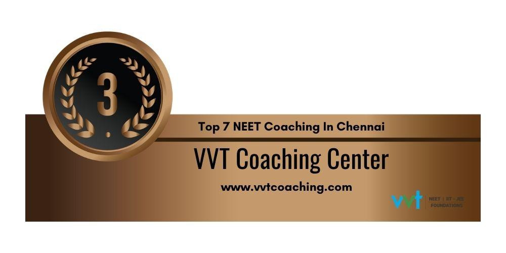 Rank 3 NEET Coaching In Chennai