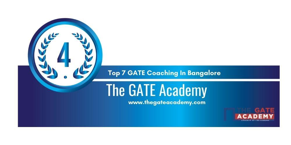 Rank 4 GATE Coaching In Bangalore