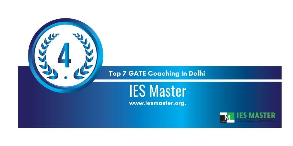 Rank 4 GATE Coaching In Delhi