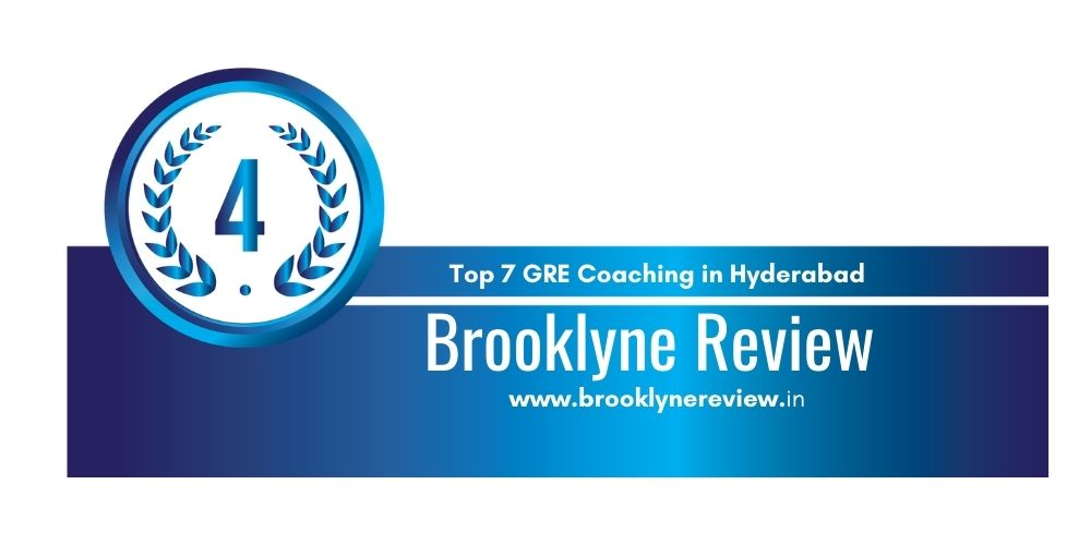 Rank 4 in 7 GRE Coaching in Hyderabad