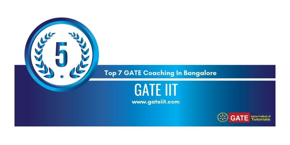 Rank 5 GATE Coaching In Bangalore
