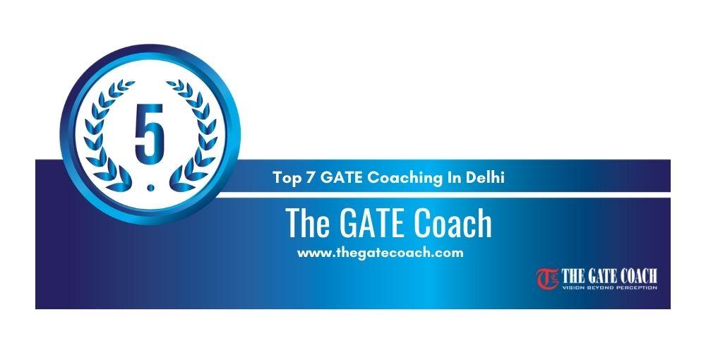 Rank 5 GATE Coaching In Delhi