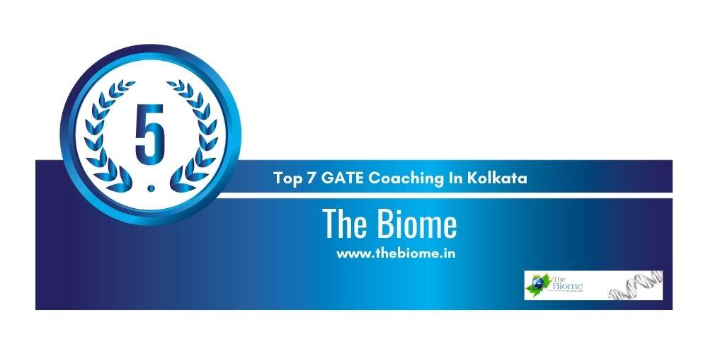 Rank 5 GATE Coaching In Kolkata