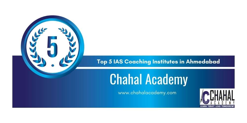 Rank 5 Top 5 IAS Coaching Institutes in Ahmedabad