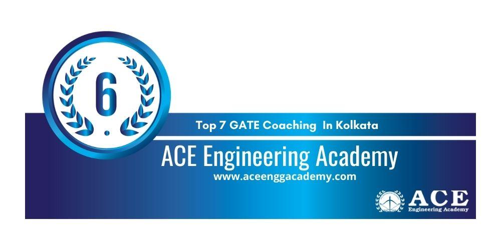 Rank 6 GATE Coaching In Kolkata