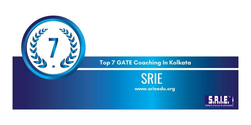 Rank 7 GATE Coaching In Kolkata