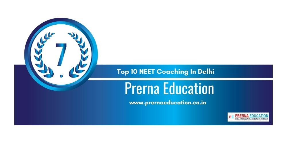 Rank 7 NEET Coaching In Delhi