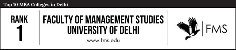 Rank 1 in the List of Top 10 MBA Colleges in Delhi