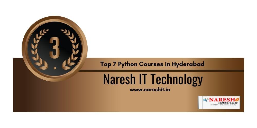 Python training in Hyderabad 3