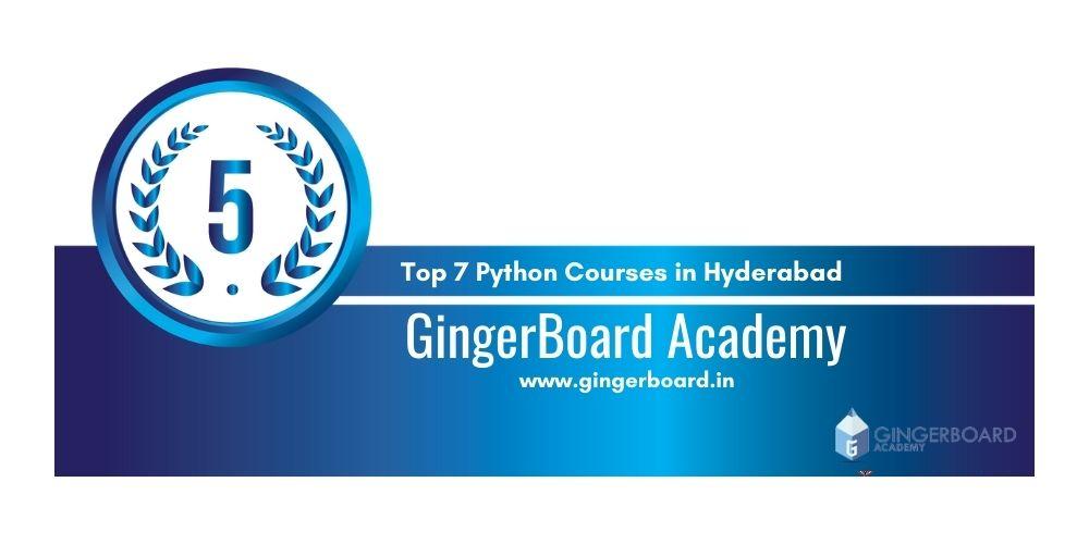 Python training in Hyderabad 5